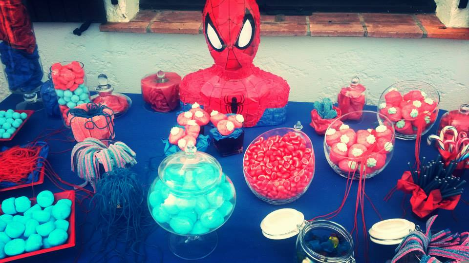 LP spiderman birthday